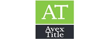 Avex Title Logo
